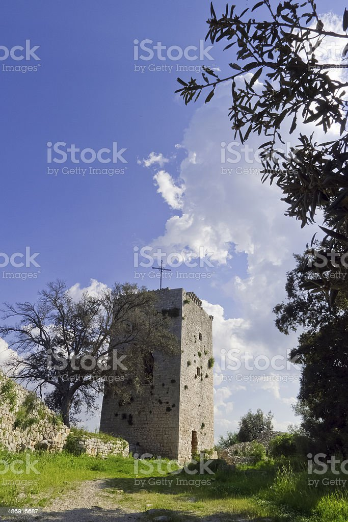 Ruins of ancient Puglia. royalty-free stock photo