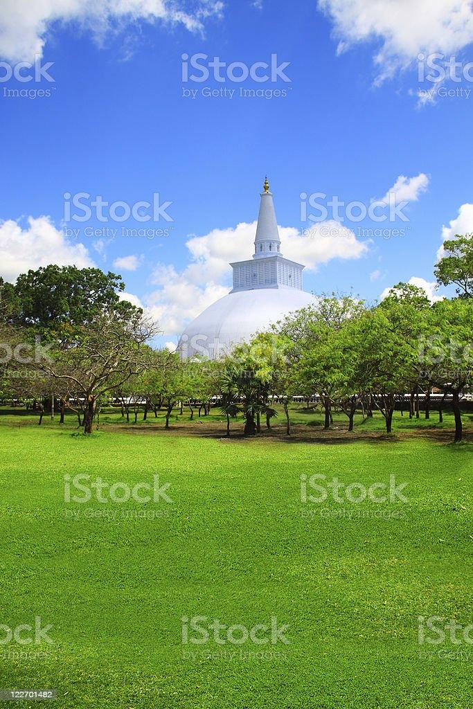 Ruins of Anuradhapura royalty-free stock photo