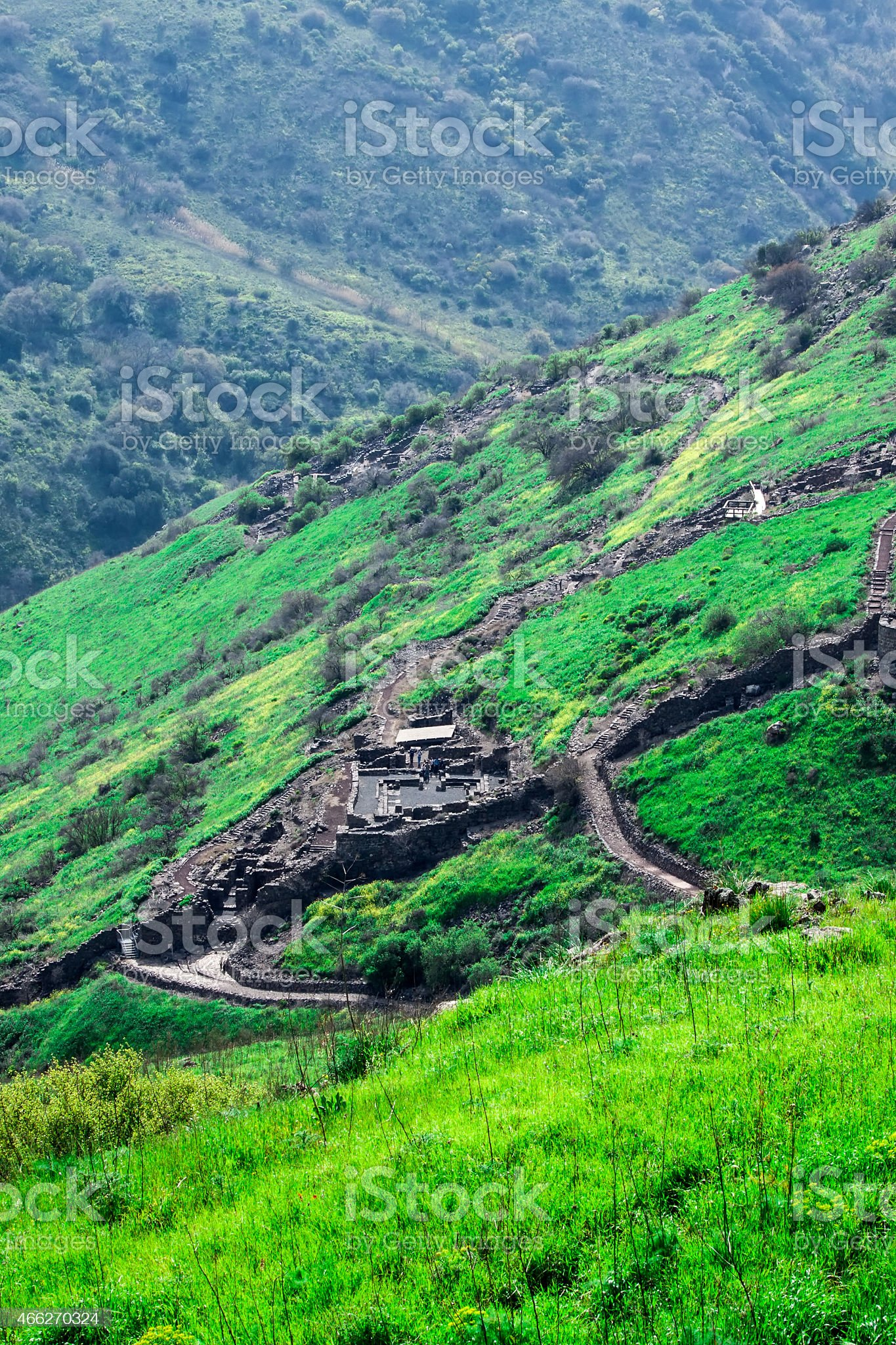 Ruins of Gamla royalty-free stock photo