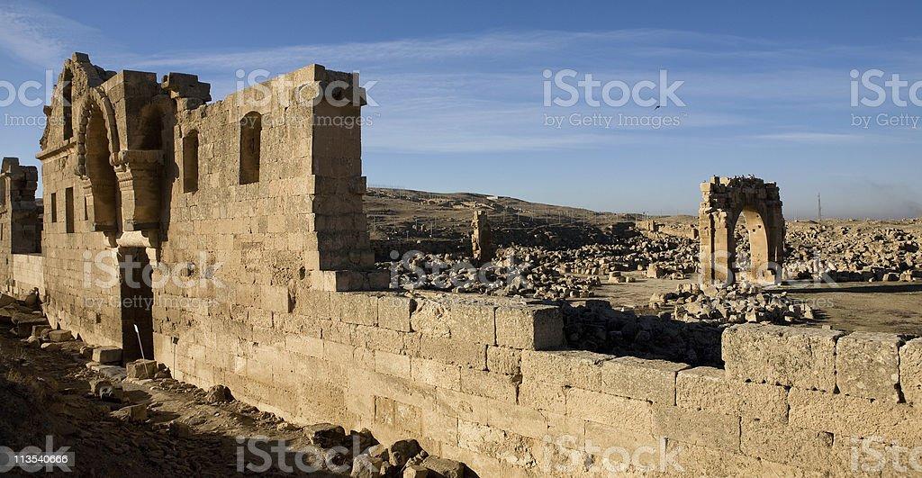 Ruins Of Harran University royalty-free stock photo