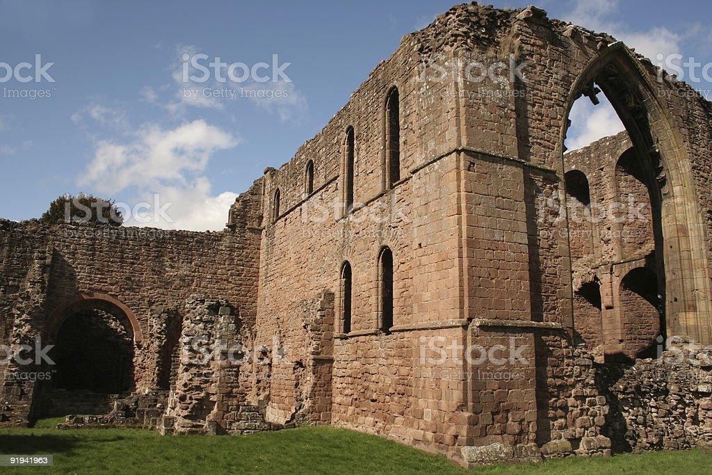 Ruins of Lilleshall stock photo