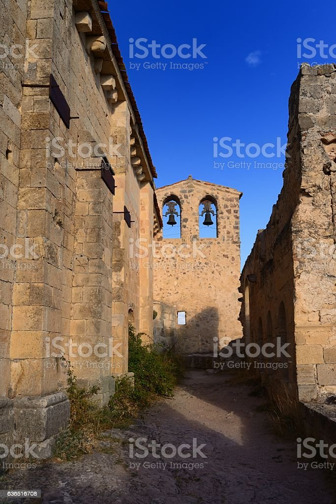 ruins of monastery of San Frutos - foto de stock