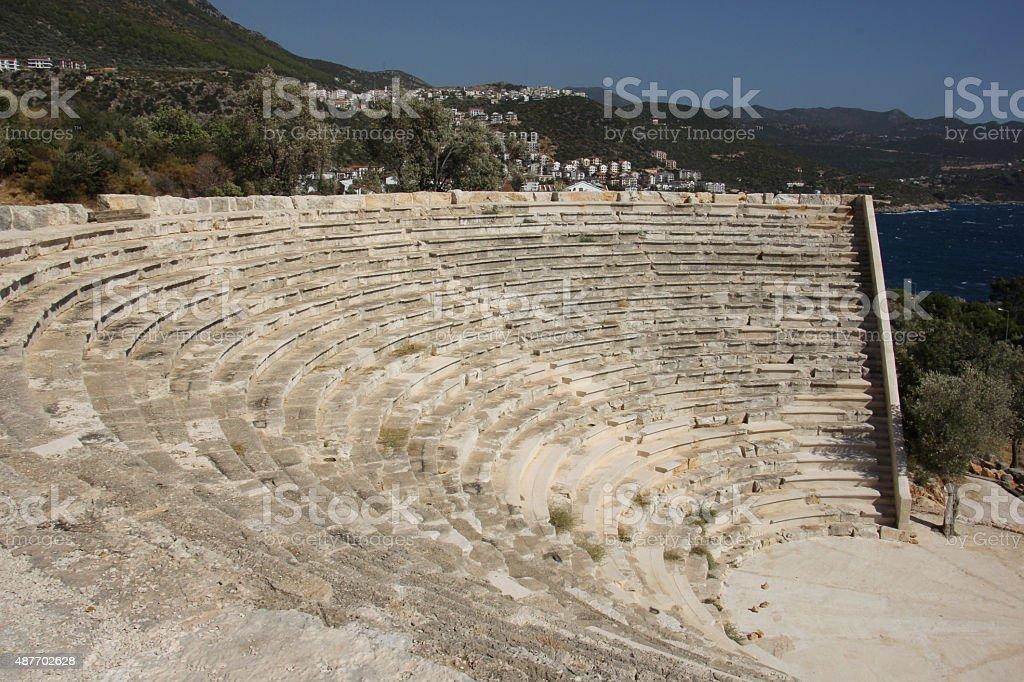 Руины древнего театр Стоковые фото Стоковая фотография