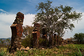 Ruins of the antique water transportation system