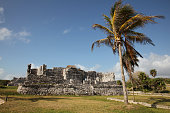 Ruins of Tulum, Yucatán Peninsula, Mexico.