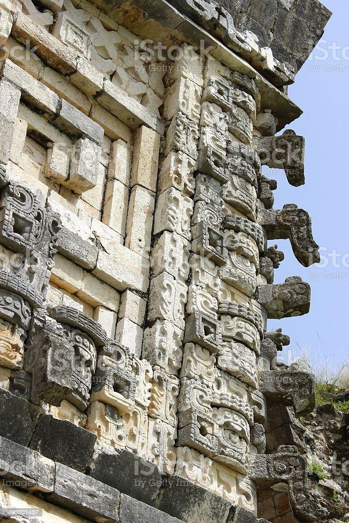 Ruins of Uxmal in Yucatan, Mexico royalty-free stock photo