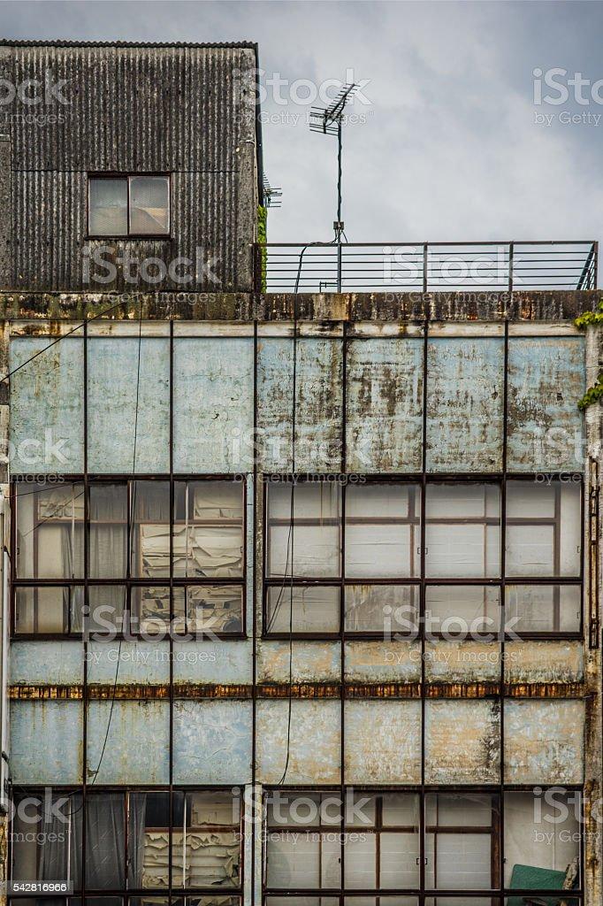 Ruines (vacante maison problème Bill âge) photo libre de droits