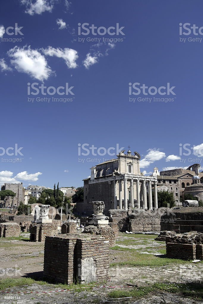 Ruins royalty-free stock photo