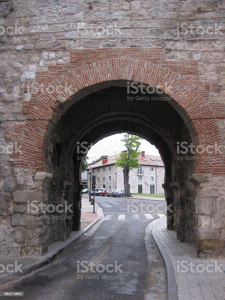 Ruins : Walls and Castles. stock photo