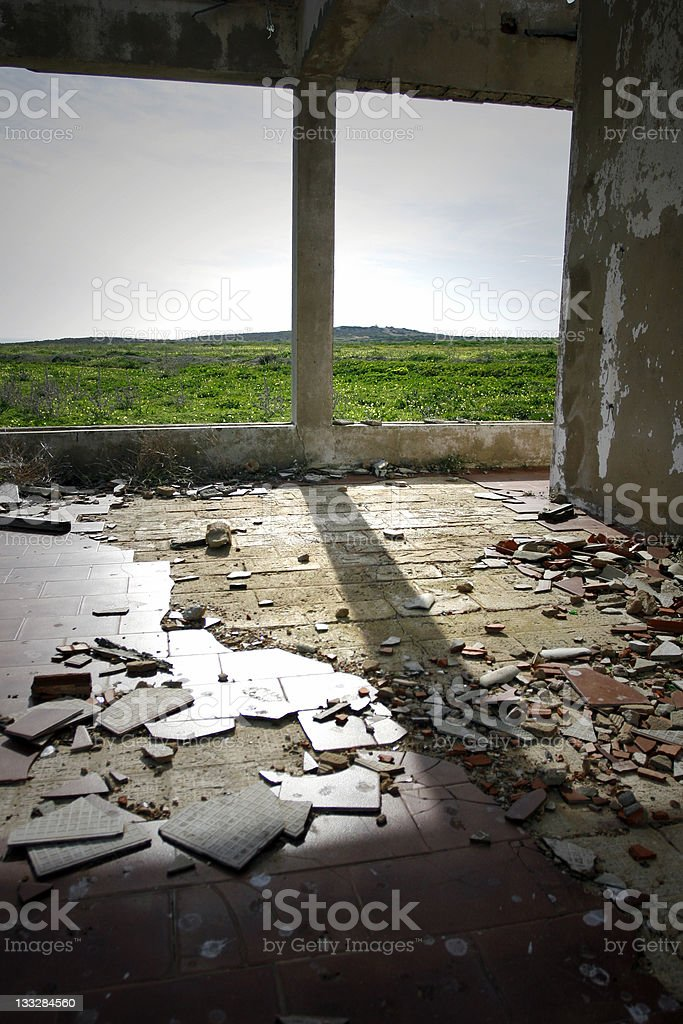 Ruins with a View royalty-free stock photo