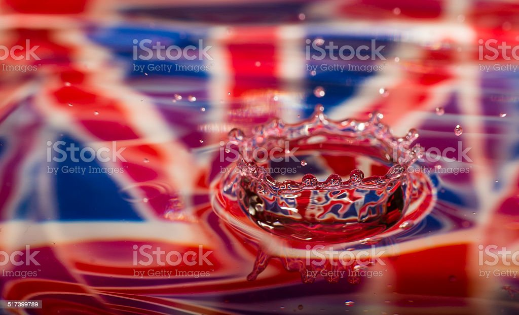 Rule Britannia stock photo