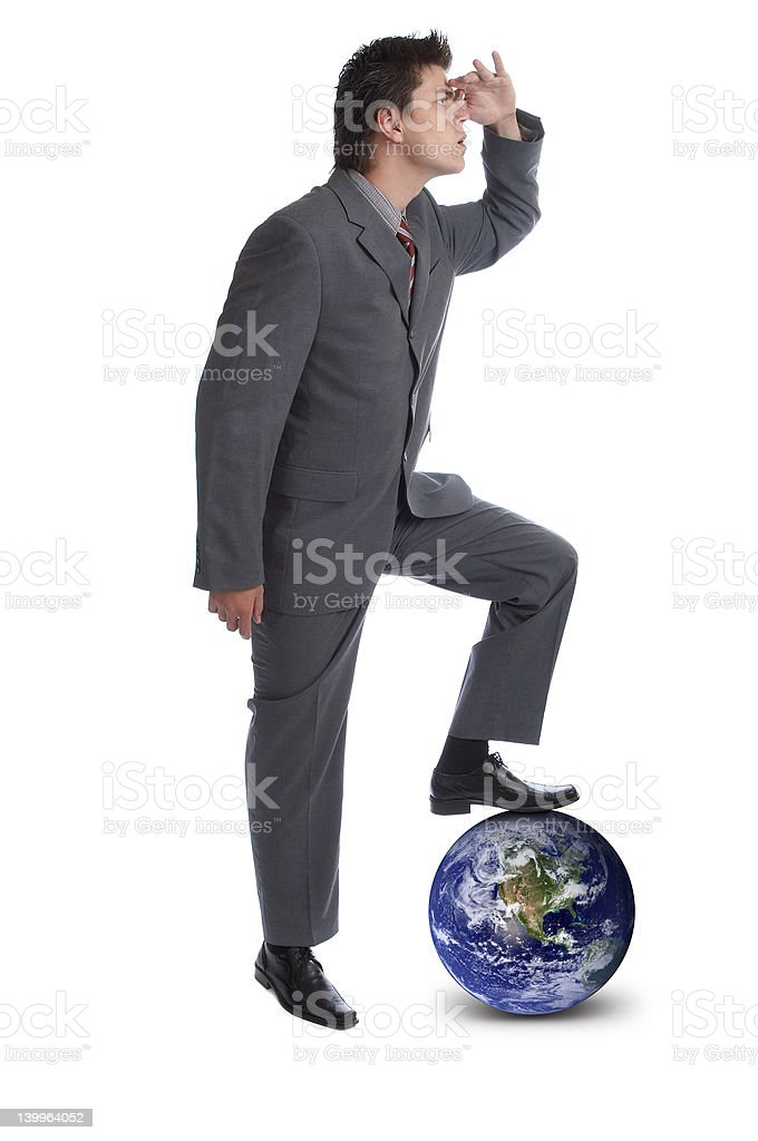 I rule the world 2 royalty-free stock photo