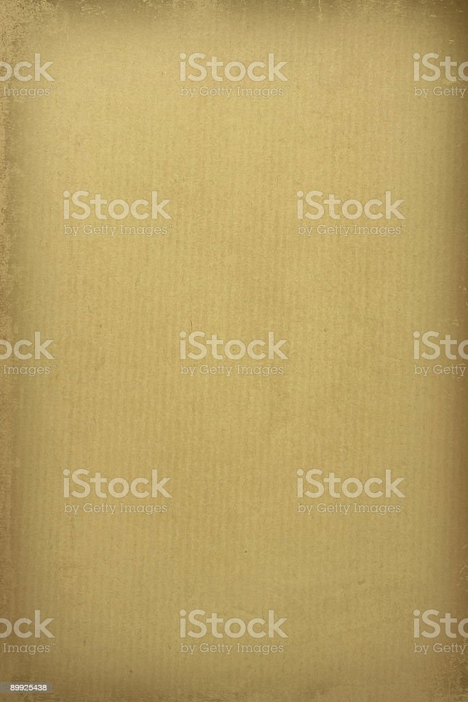 ruled grunge parchment Paper with darker edge royalty-free stock photo
