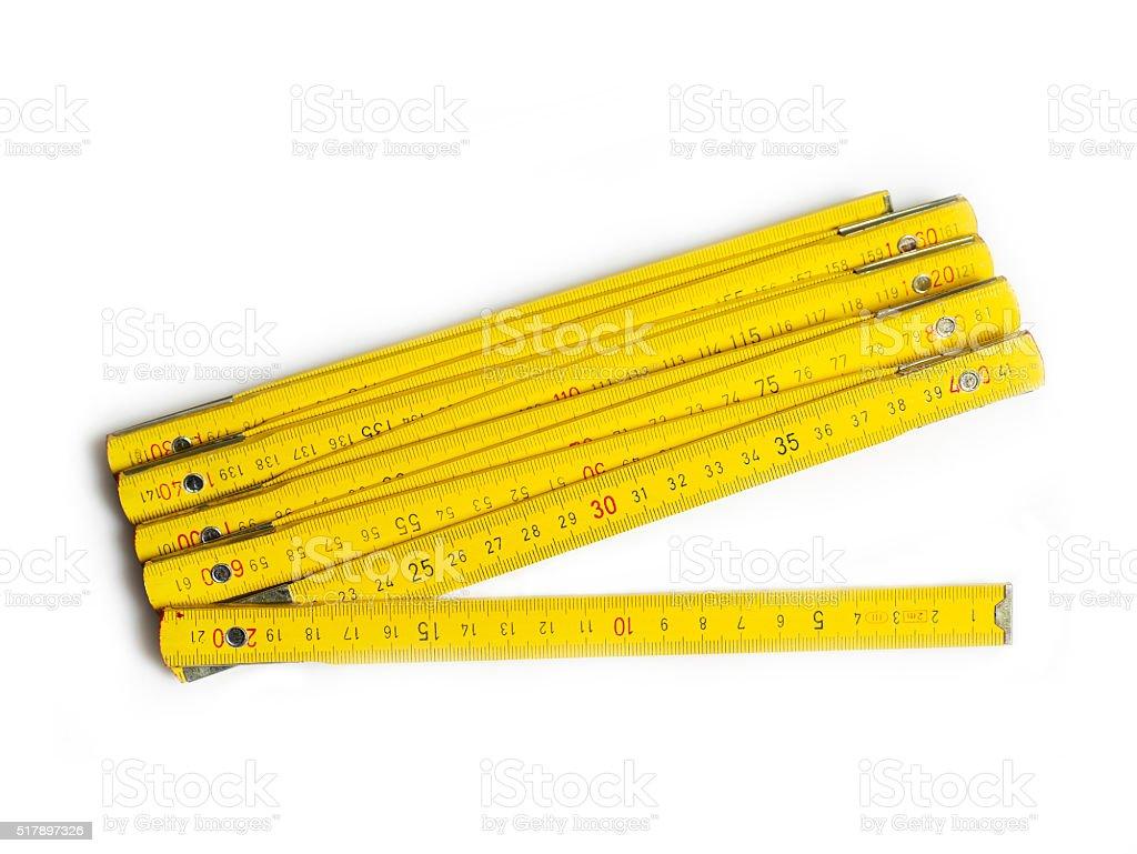Ruler stock photo