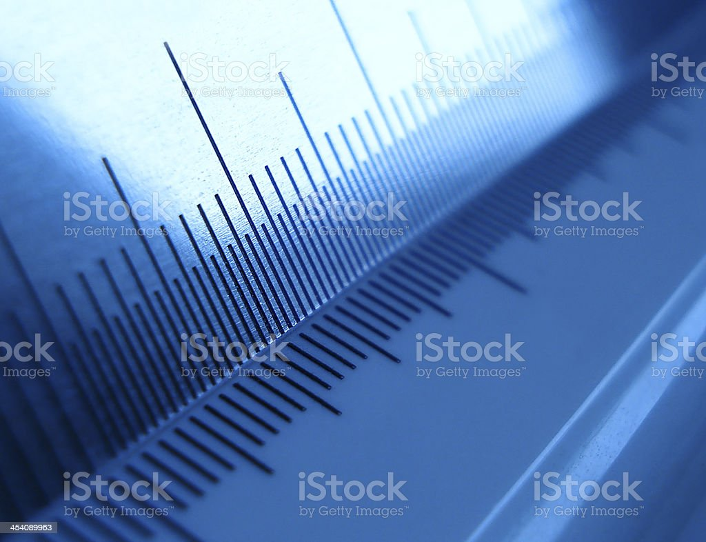 Rulers stock photo