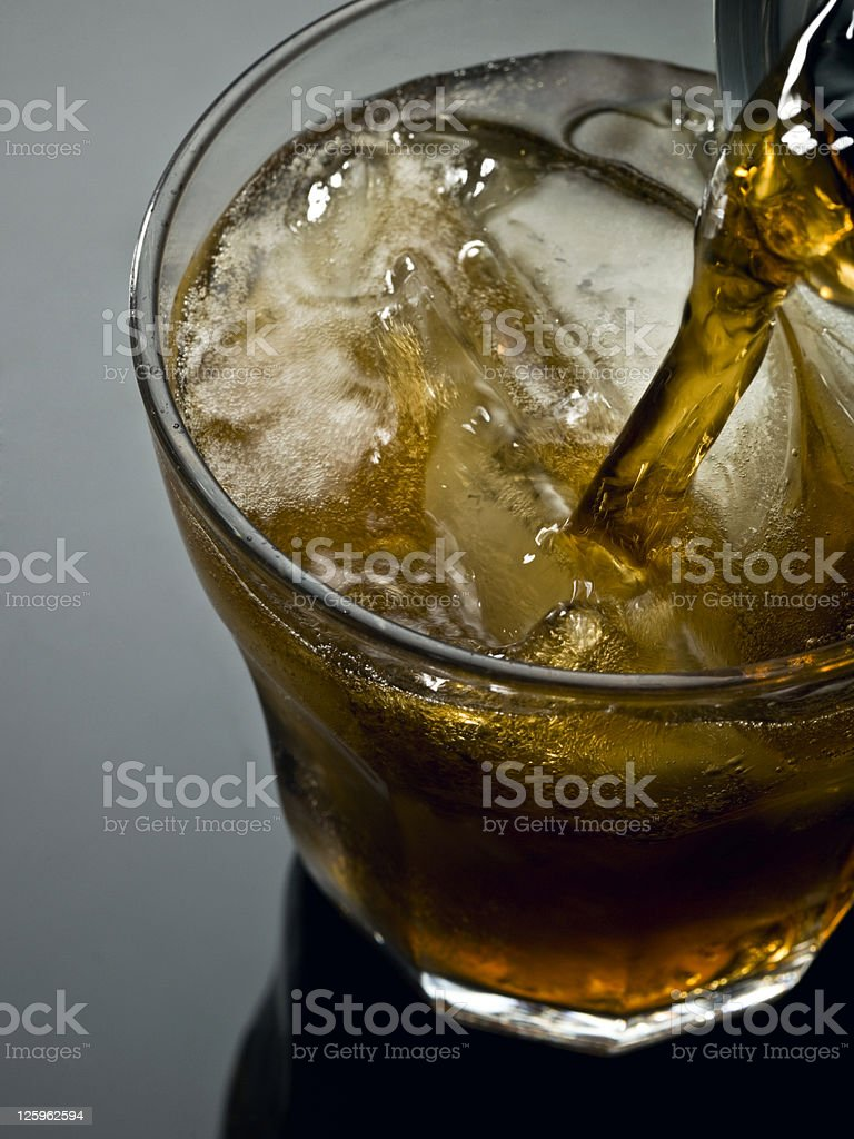 Rum and Coke royalty-free stock photo
