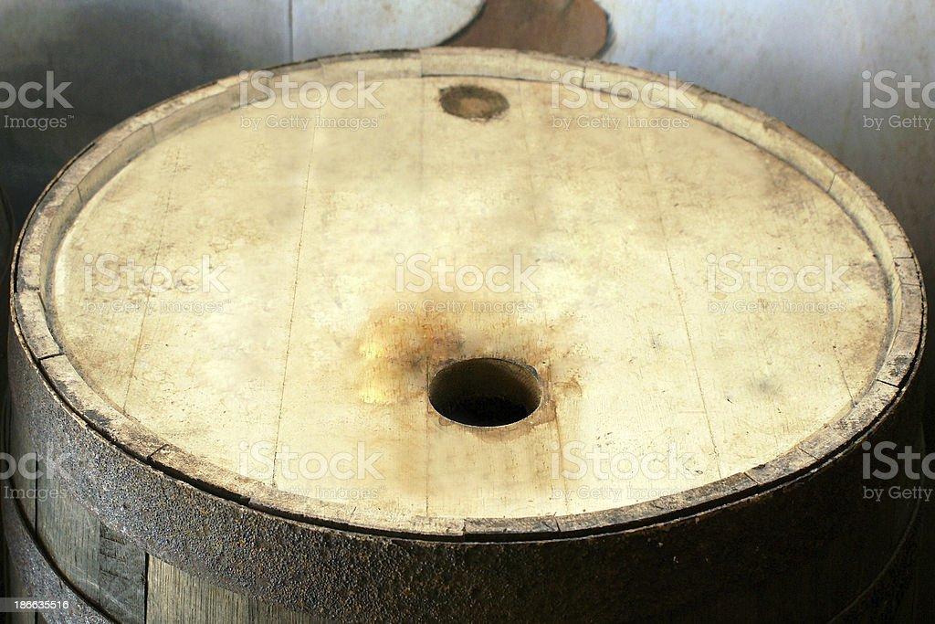 rum-barrel stock photo