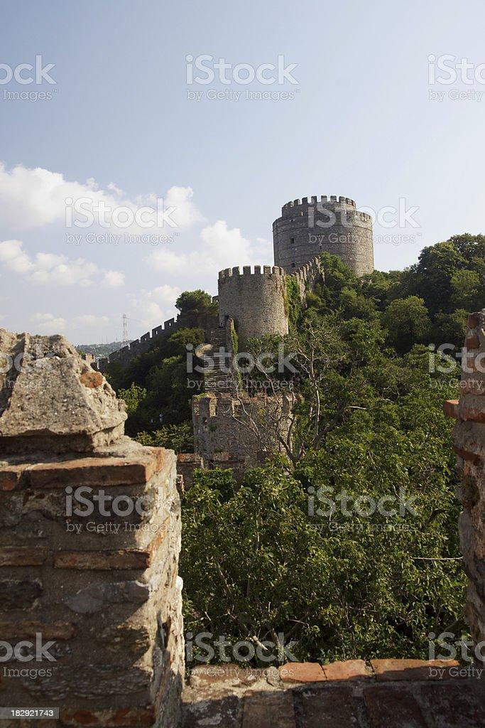 Rumeli Castle, Istanbul, Turkey stock photo