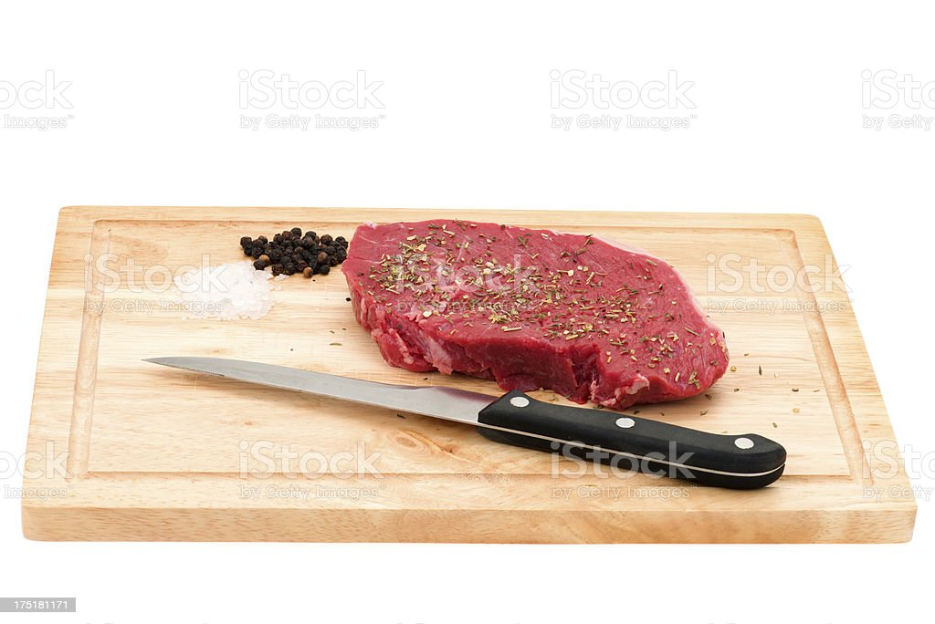 Rump steak royalty-free stock photo