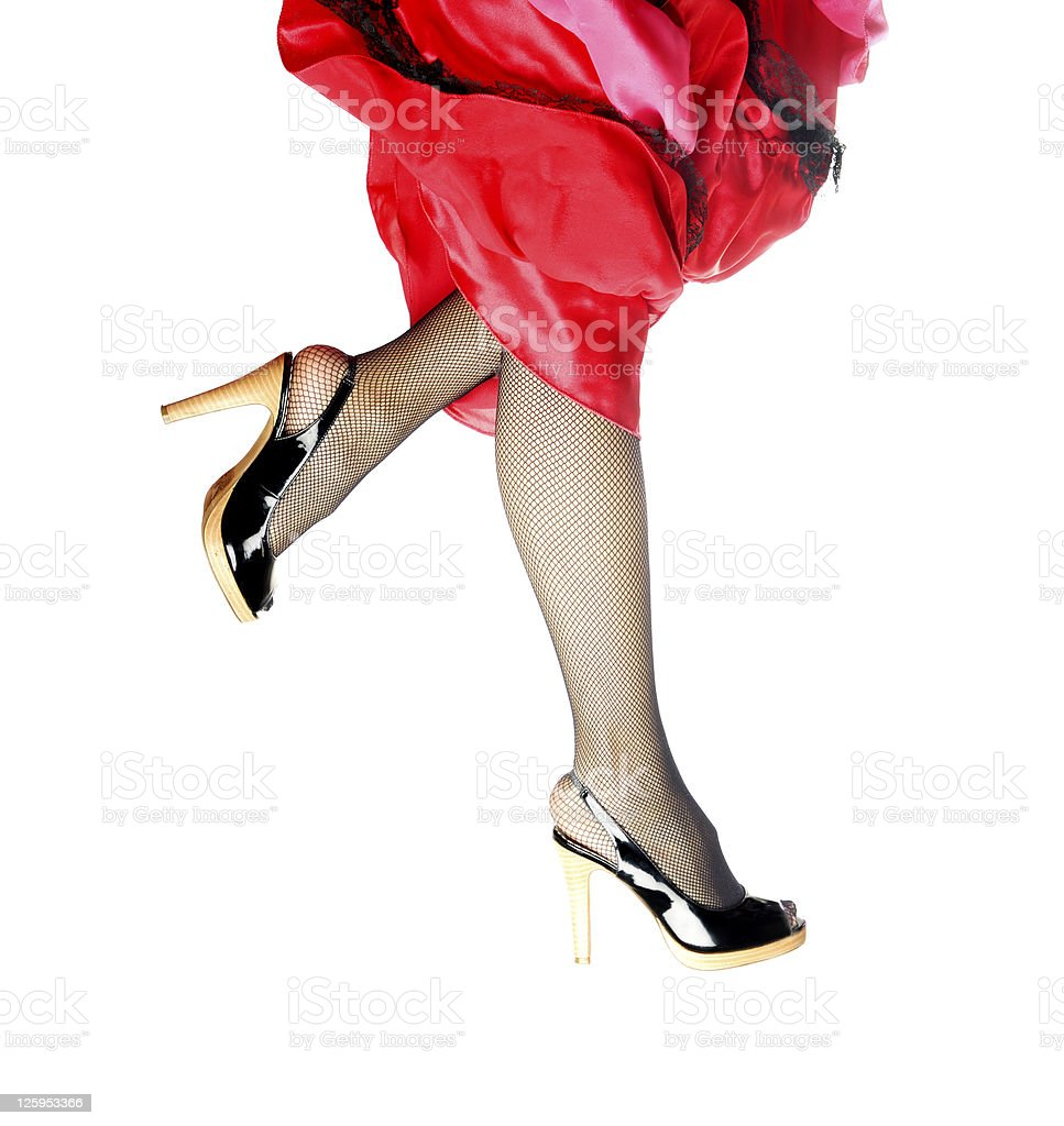 Run and dance royalty-free stock photo