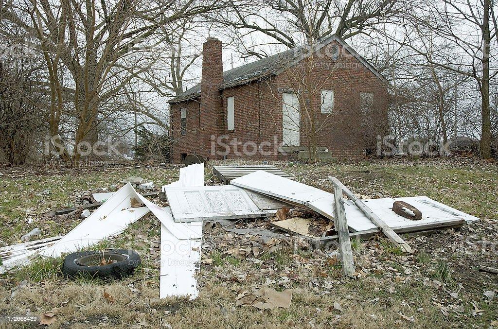 Run Down House - Angle 3 royalty-free stock photo
