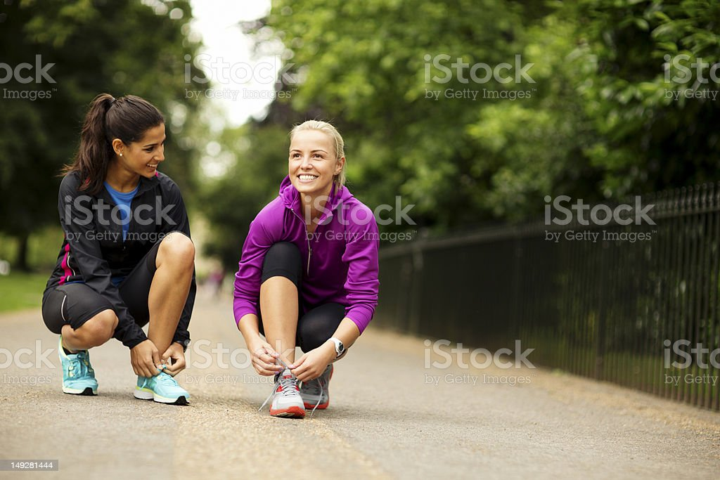 Run in the Park royalty-free stock photo