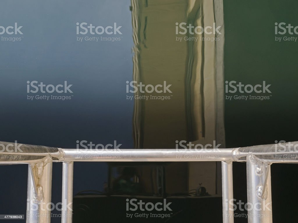 Run of a ladder royalty-free stock photo