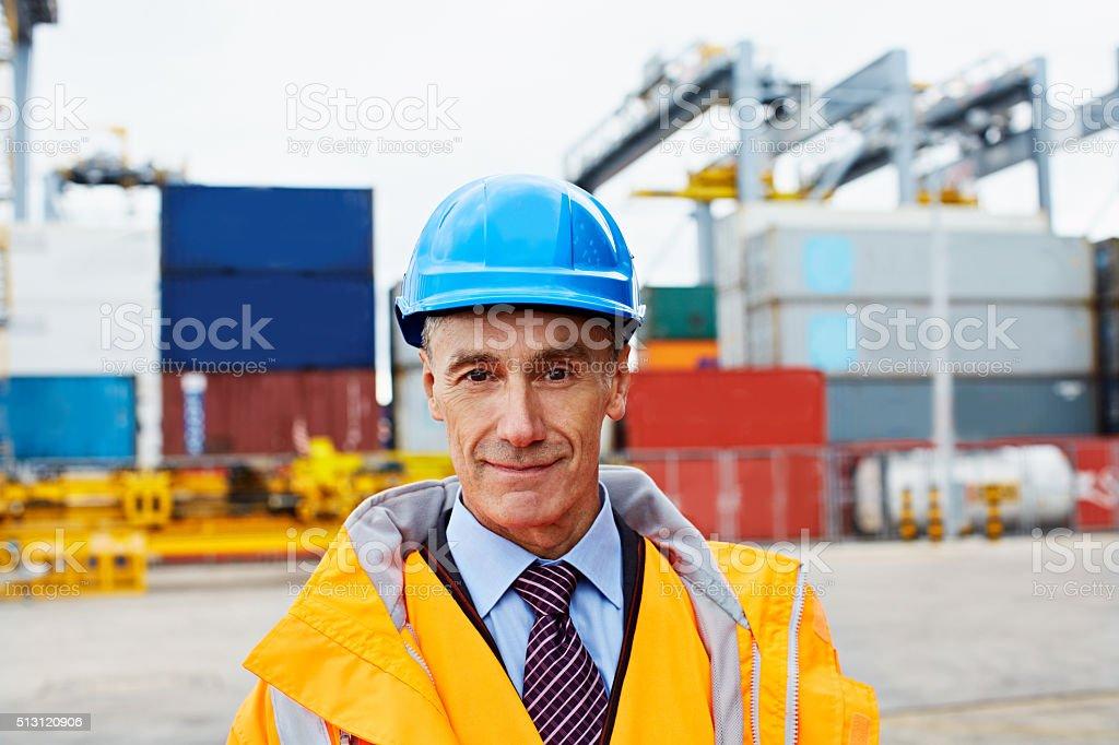 I run this dock stock photo