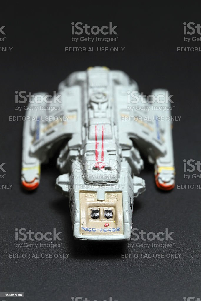 Runabout Has Landed stock photo
