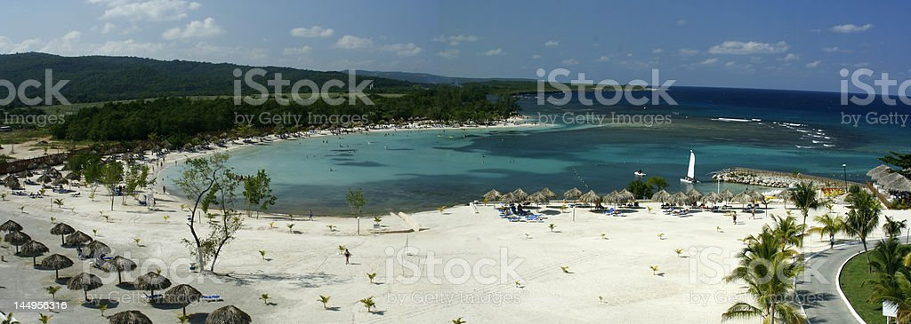 Runaway Bay Jamaica stock photo