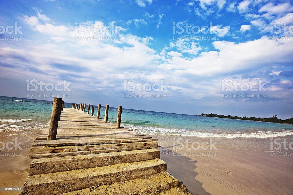 runaway bay stock photo