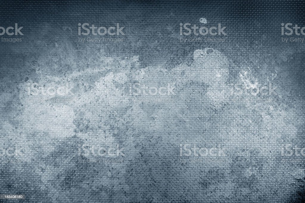rundown metal stock photo