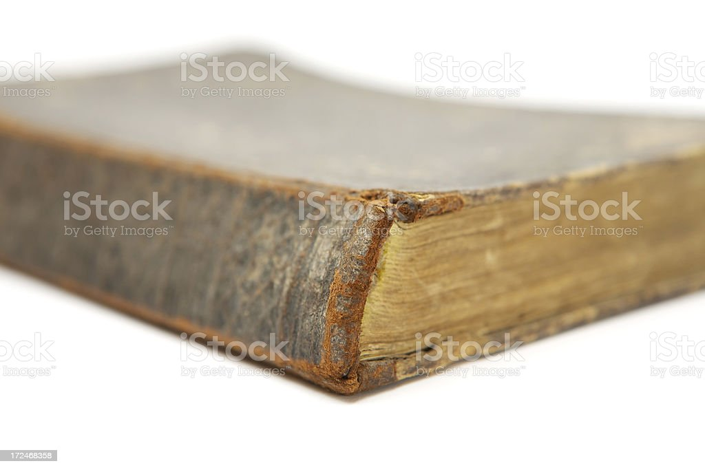 Run-Down Old Book royalty-free stock photo