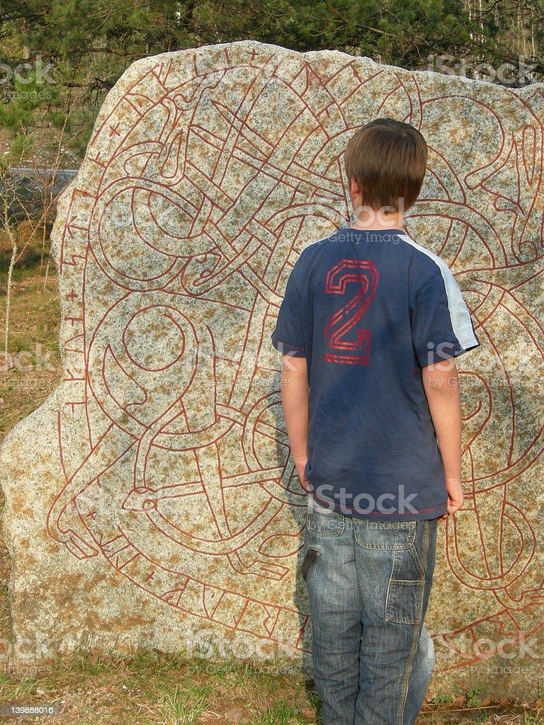 rune royalty-free stock photo