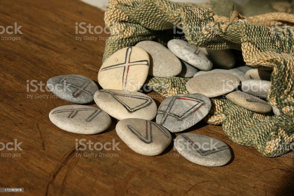 runes stock photo