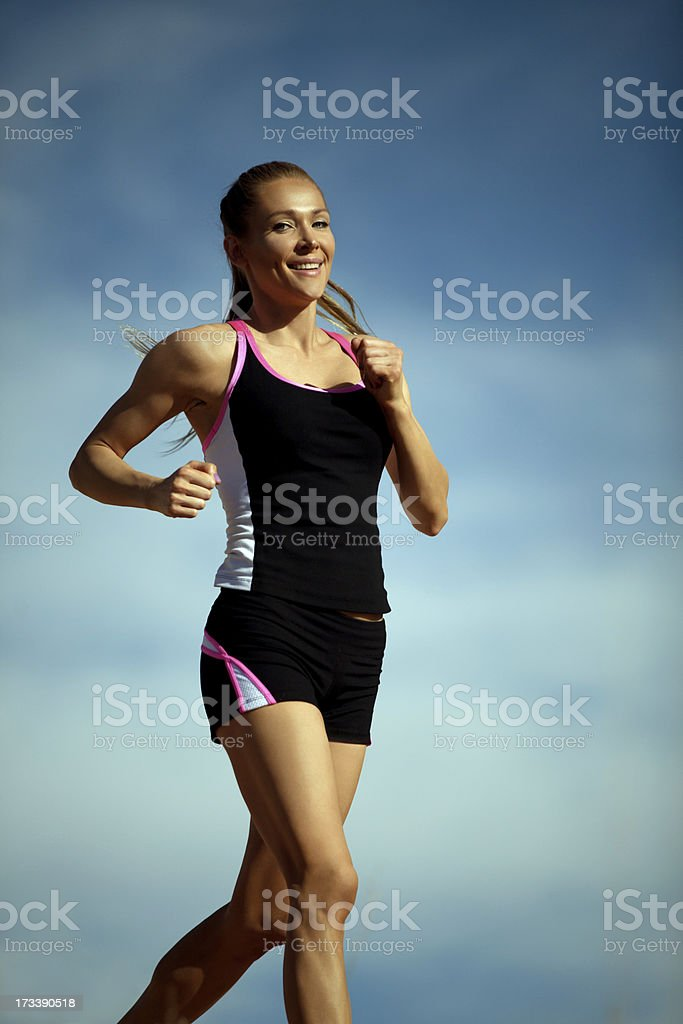 Runner Outdoor royalty-free stock photo