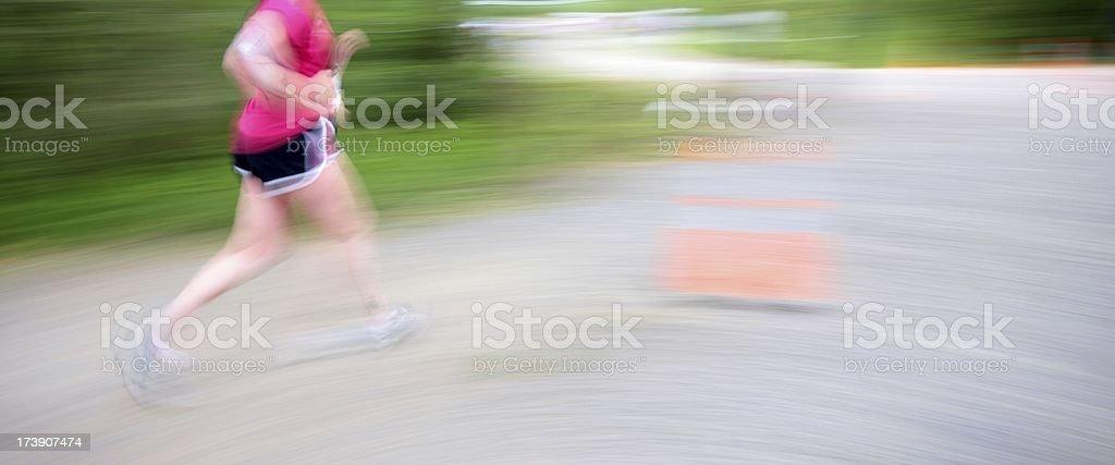 5K Runner royalty-free stock photo