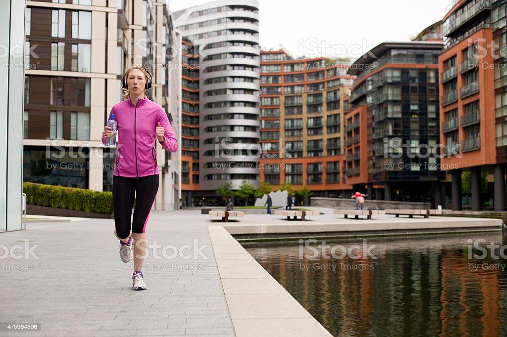 runner royalty-free stock photo