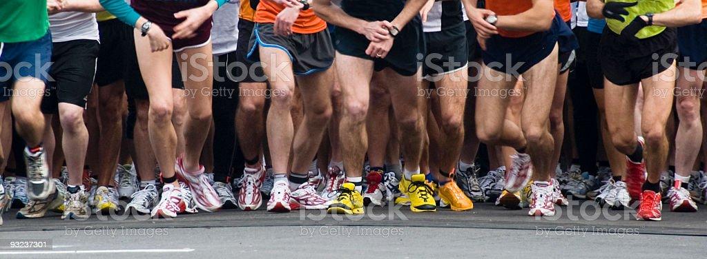 10K Runners stock photo
