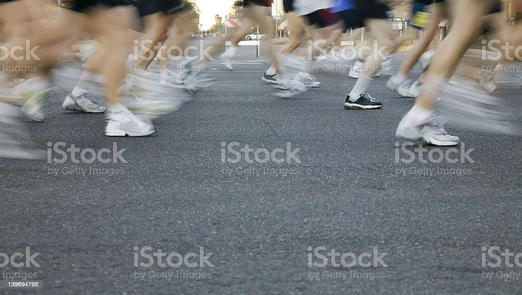 Runners1 royalty-free stock photo