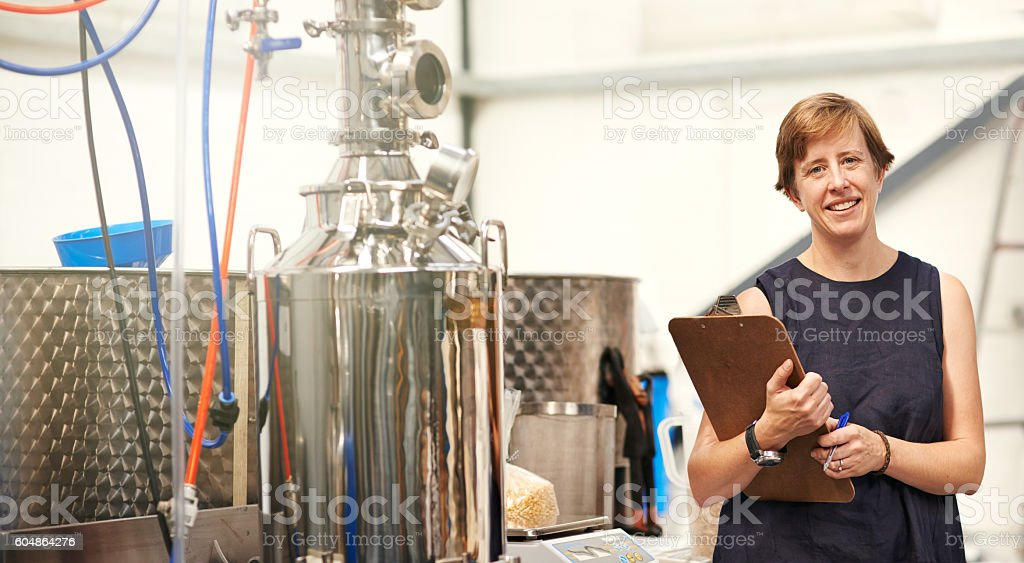 Running a small business with big passion stock photo