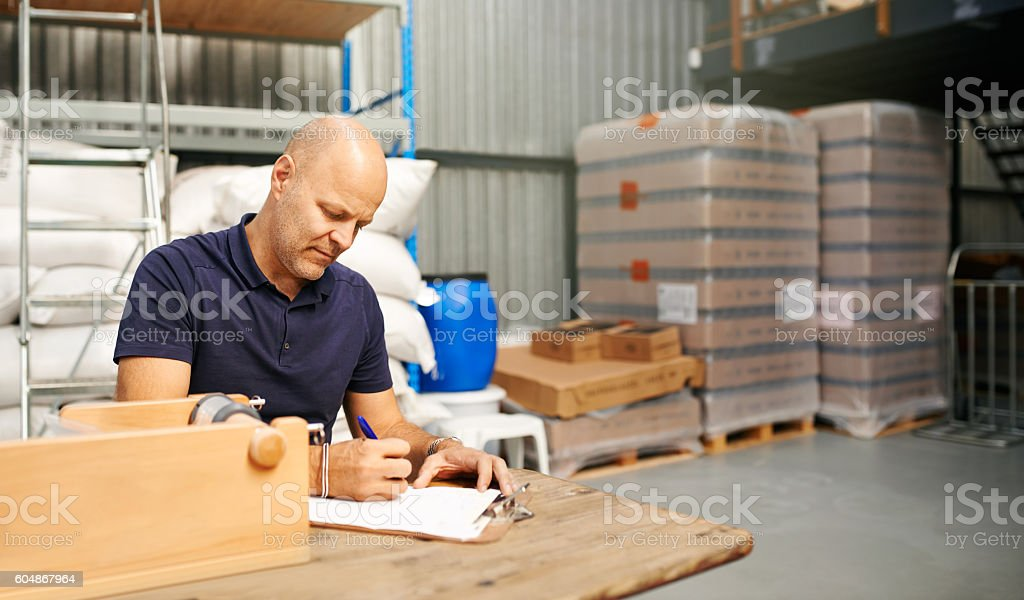 Running a successful distillery stock photo