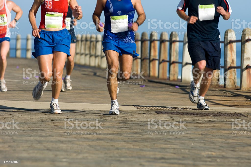 Running at Pace stock photo