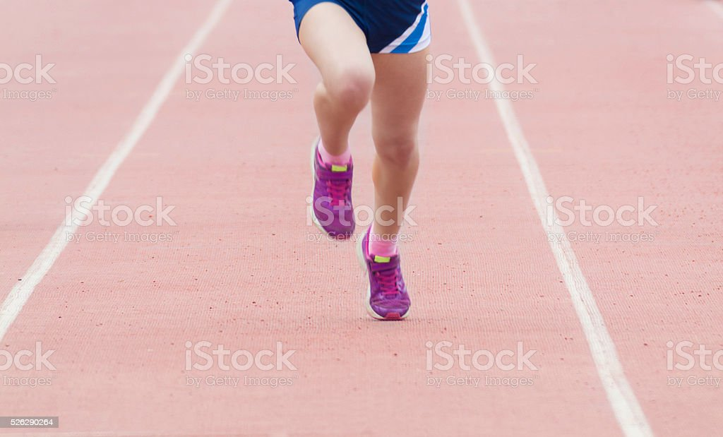 running competition stock photo