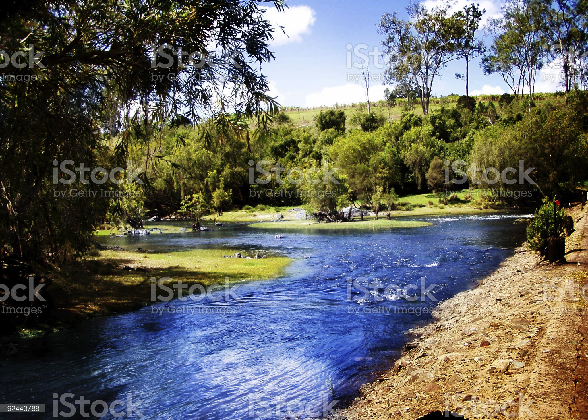 Running Creek royalty-free stock photo
