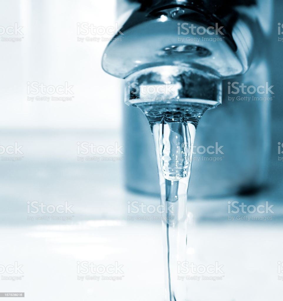 running faucet royalty-free stock photo