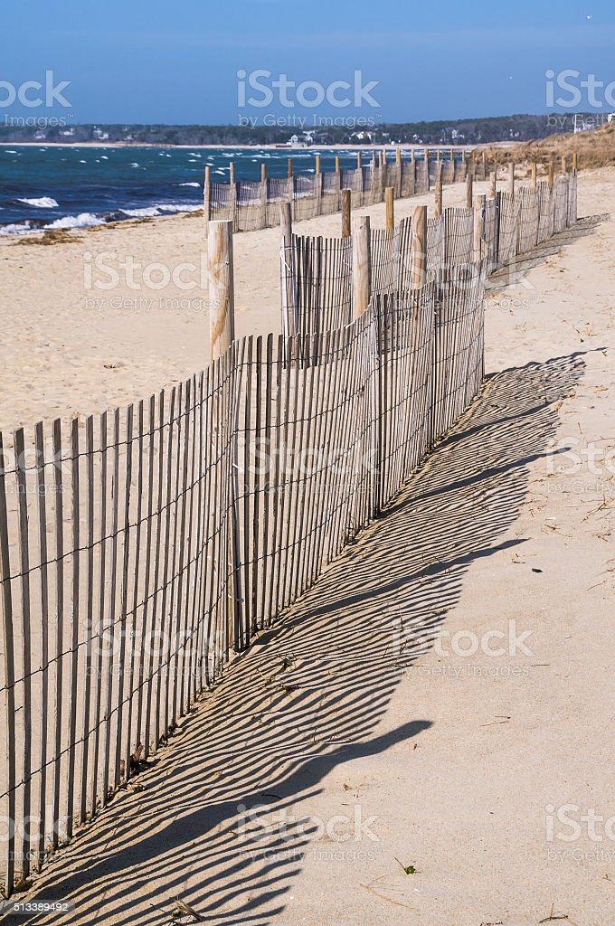 Running Fence Line stock photo