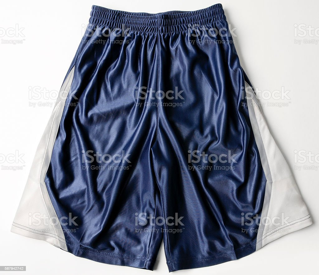 Running Fitness Athletic Wear Shorts stock photo