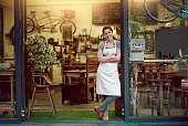 Running her coffee shop on good old rustic charm