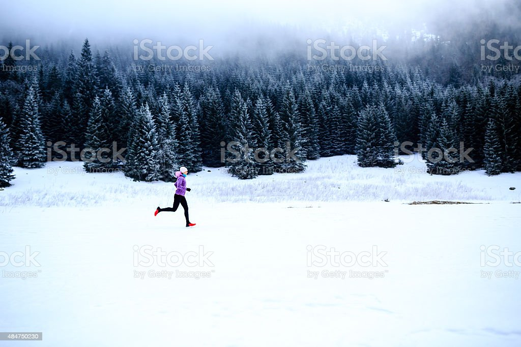 Running inspiration and motivation, runner stock photo